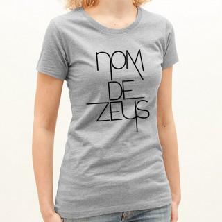 T-shirt Nom de Zeus