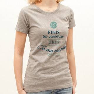 T-shirt Finis le conneries