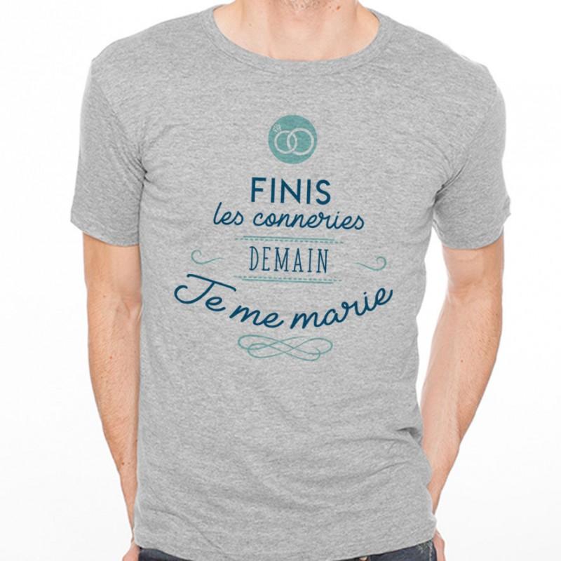 T-shirt Finis le conneries