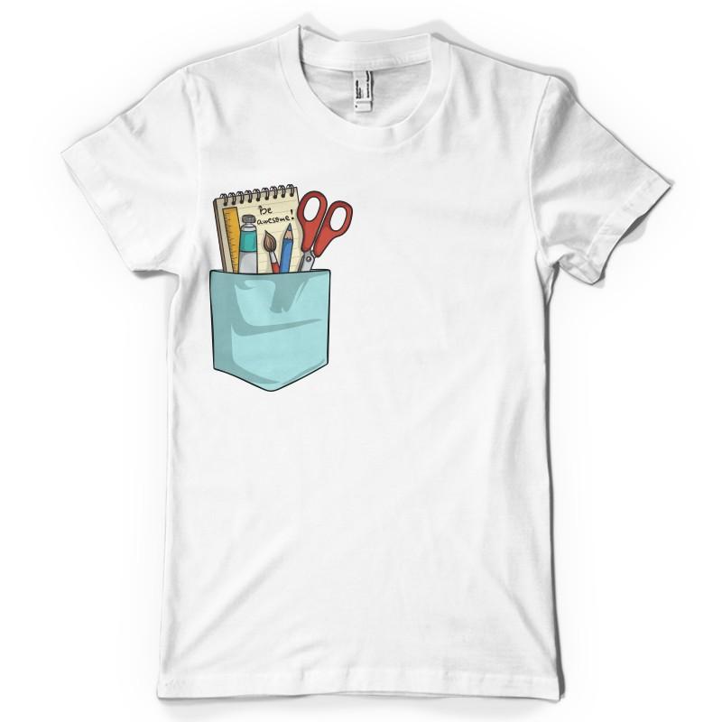 T-shirt Au boulot