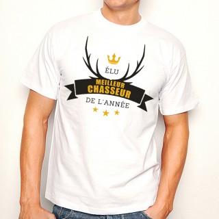 T-shirt Elu meilleur Chasseur de l'Année