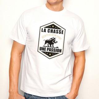 T-shirt La Chasse... une Passion
