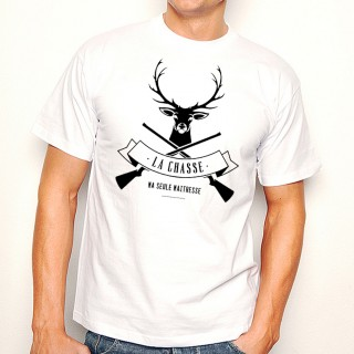 T-shirt La Chasse ma seule maîtresse