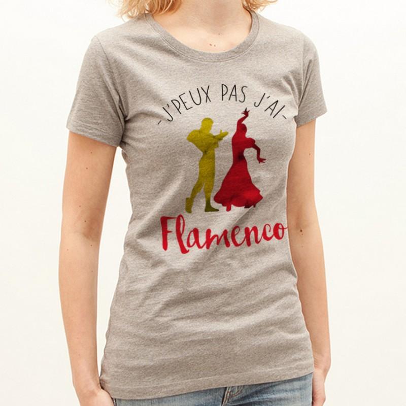 T-shirt J'peux pas j'ai ... Flamenco