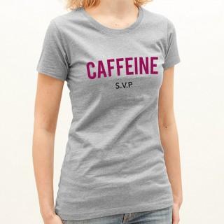 T-shirt Caffeine svp