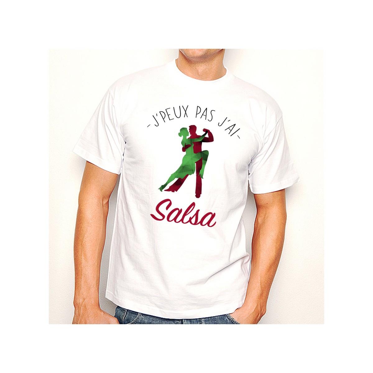 T-shirt J'peux pas j'ai ... Salsa