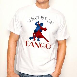 T-shirt J'peux pas j'ai ... Tango