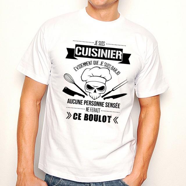 T-shirt Cuisinier Barjo