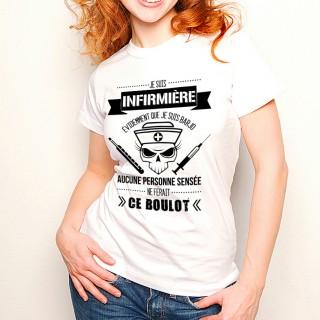 T-shirt Infirmière Barjo