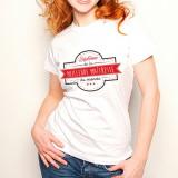 T-shirt Diplôme de la Meilleure Maîtresse
