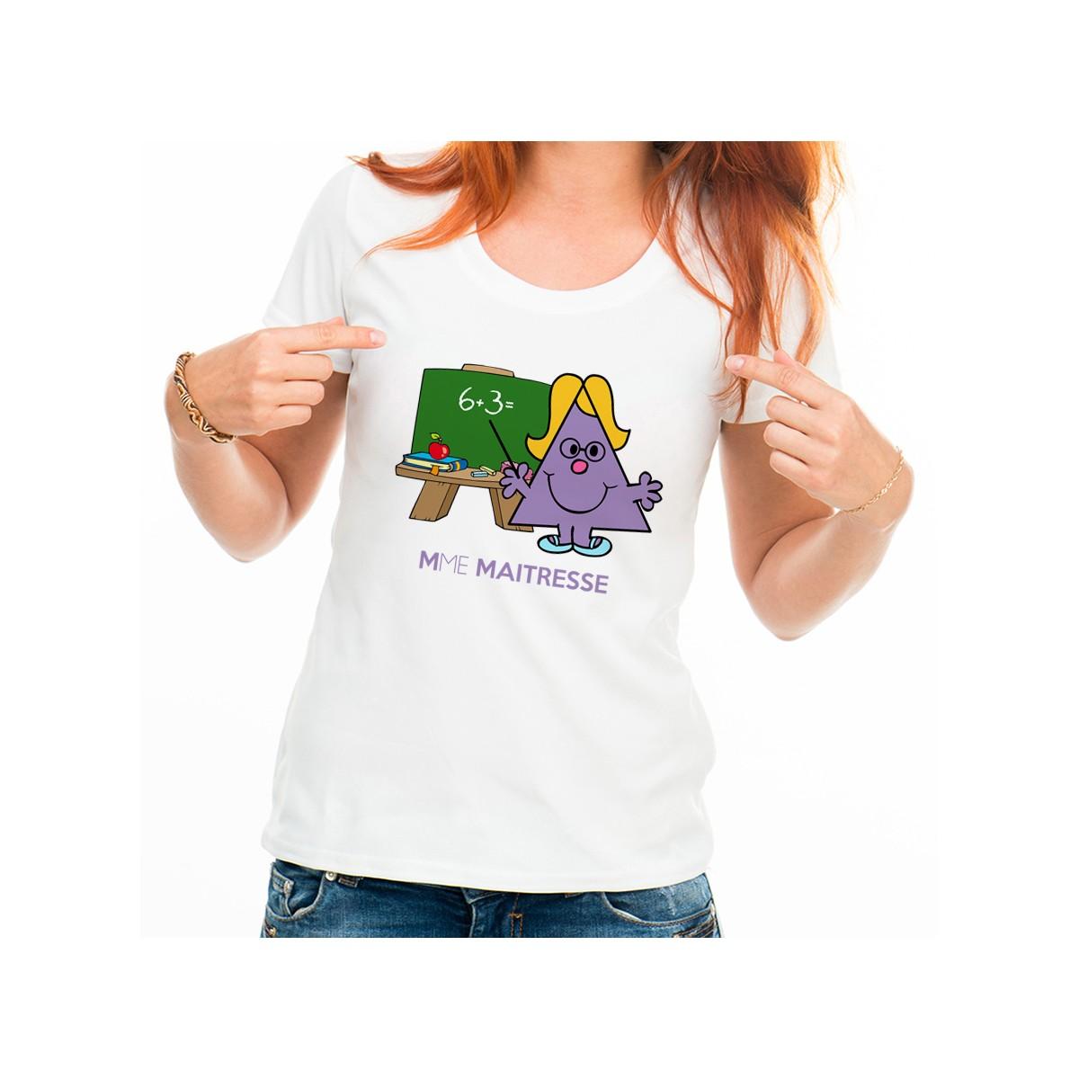 T-shirt Mme Maîtresse