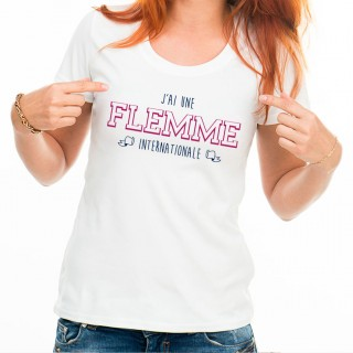 T-shirt Flemme internationale