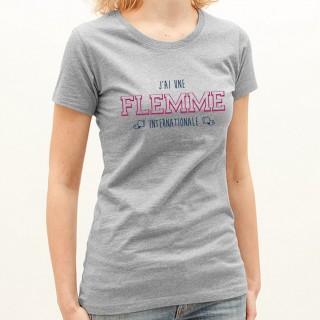 T-shirt Flemme internationale