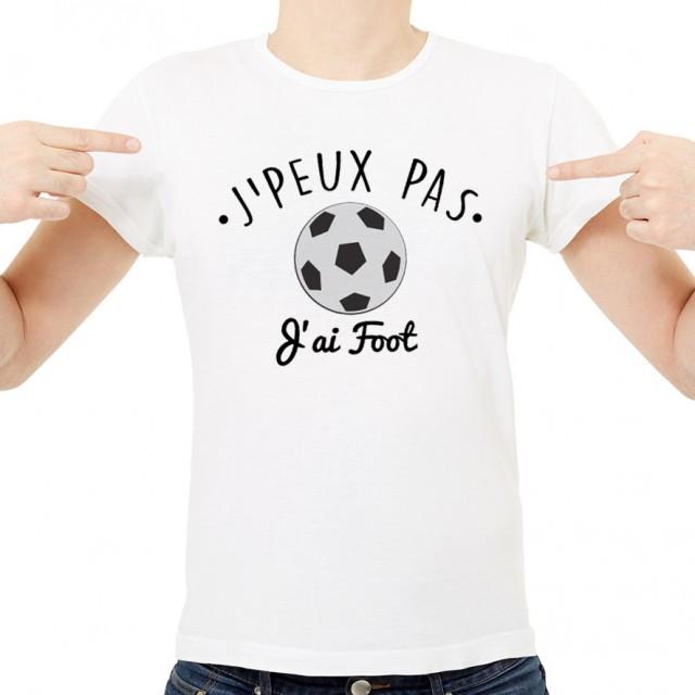 T-shirt SPORT J'peux pas j'ai Foot