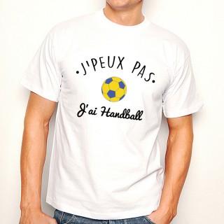 T-shirt SPORT J'peux pas j'ai Handball