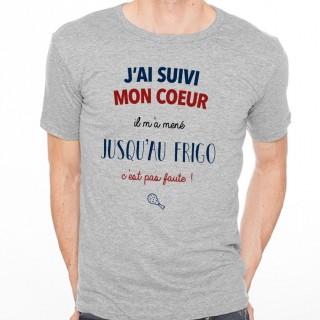 T-shirt J'ai suivi mon cœur