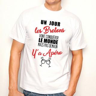T-shirt Bretons...mais pas demain y'a Apéro