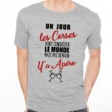 T-shirt Corses...mais pas demain y'a Apéro