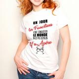 T-shirt Franciliens...mais pas demain y'a Apéro