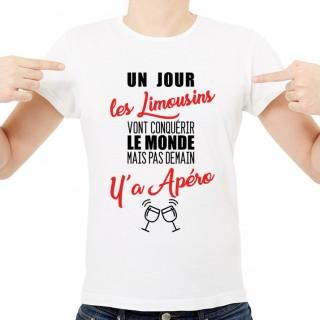 T-shirt Limousins...mais pas demain y'a Apéro