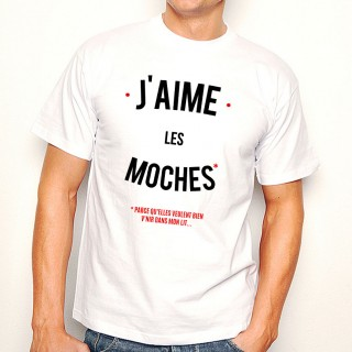 T-shirt J'aime les moches