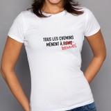 T-shirt Tous les chemins mènent à RENNES