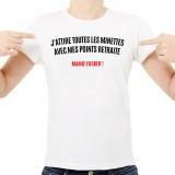T-shirt Les minettes