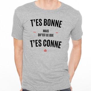 T-shirt T'es bonne