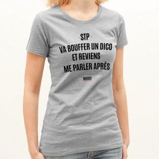 T-shirt Va bouffer un dico