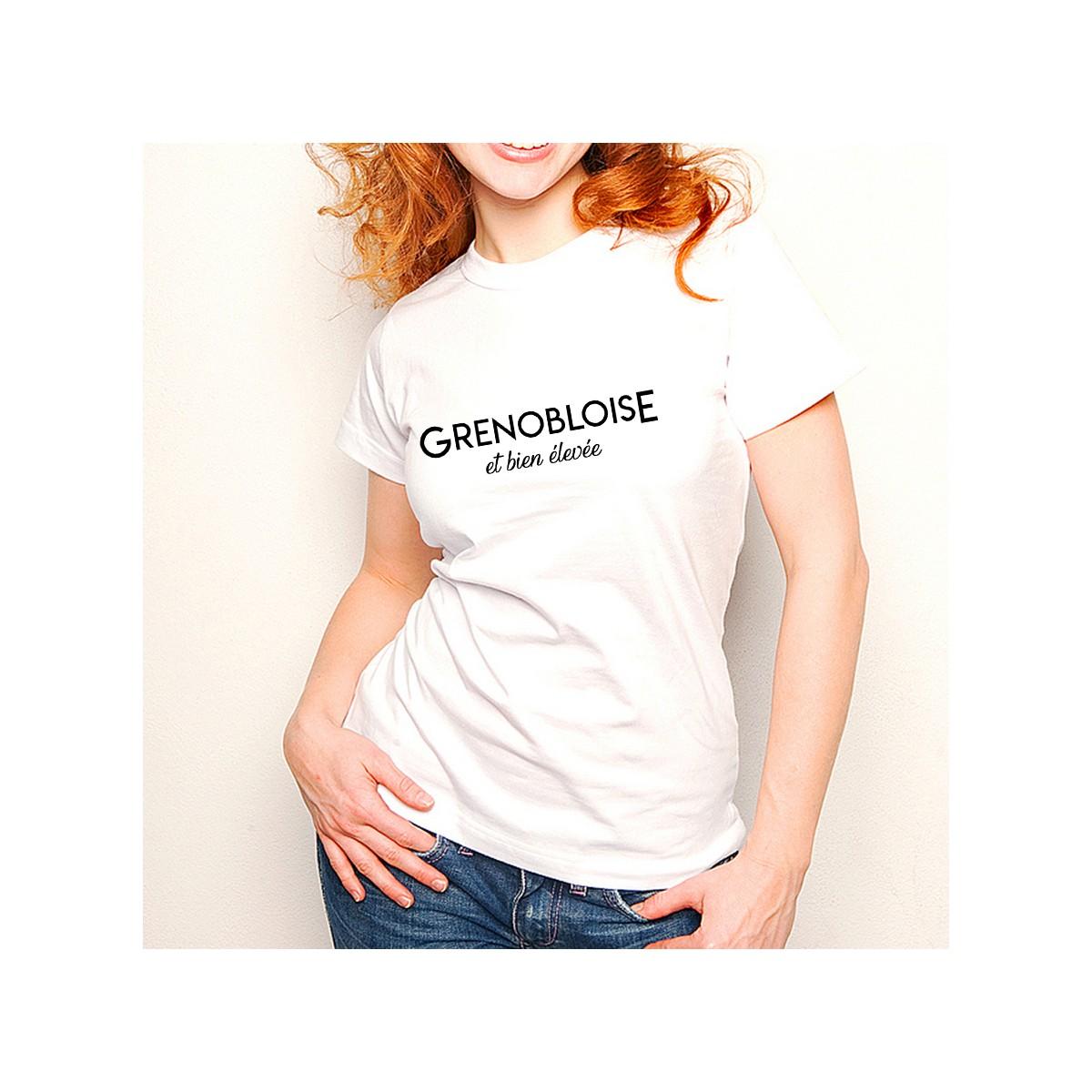 T-shirt Grenobloise et bien élevée