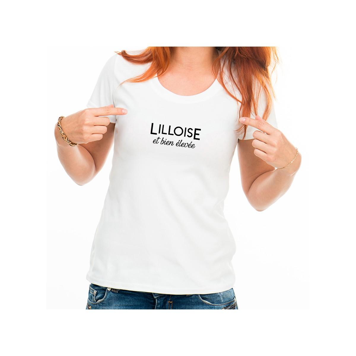 T-shirt Lilloise et bien élevée