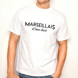 T-shirt Marseillais et bien élevé