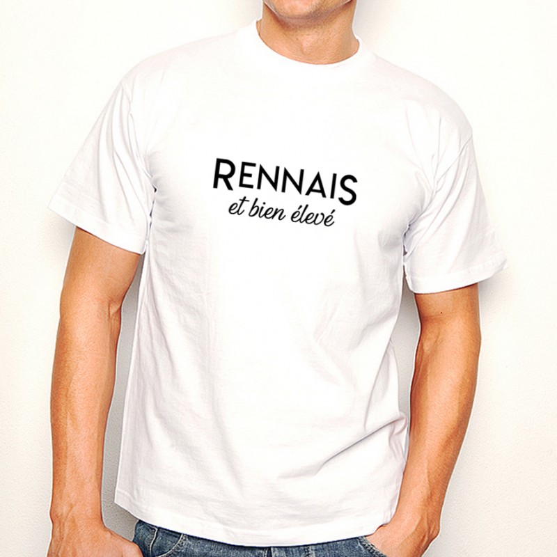 T-shirt Rennais et bien élevé