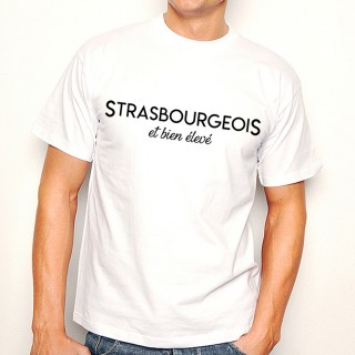 T-shirt Strasbourgeois et bien élevé