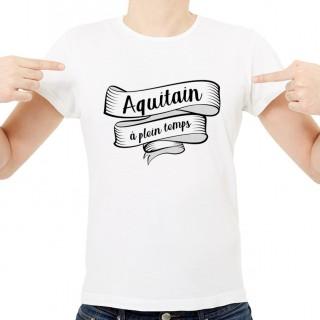 T-shirt Aquitain à plein temps