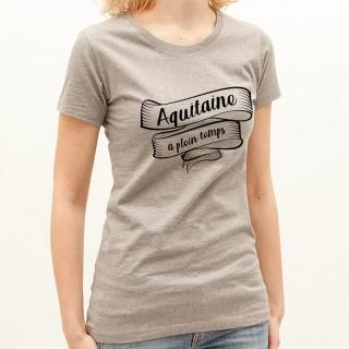 T-shirt Aquitaine à plein temps
