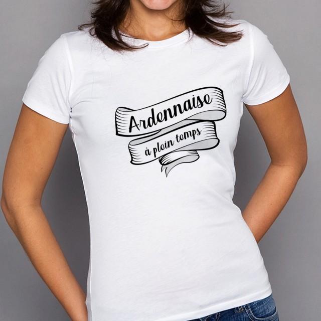 T-shirt Ardennaise à plein temps