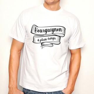 T-shirt Bourguignon à plein temps