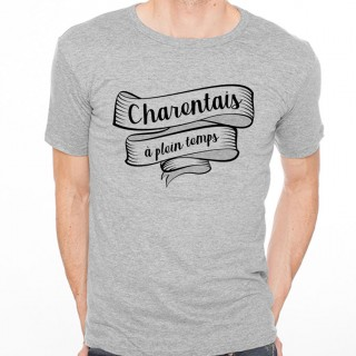 T-shirt Charentais à plein temps