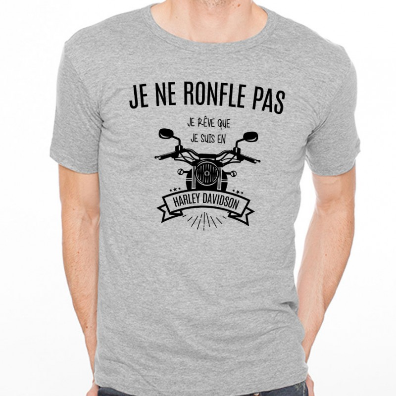 T-shirt Je ne ronfle pas