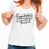 T-shirt Francilienne à plein temps