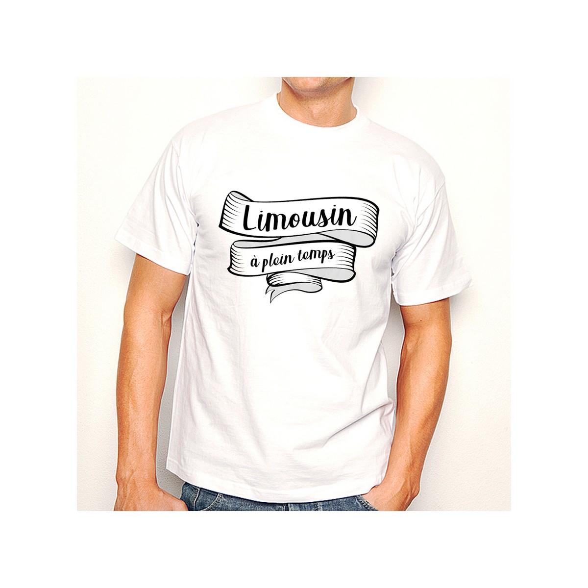 T-shirt Limousin à plein temps