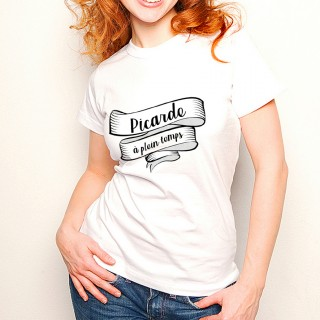 T-shirt Picarde à plein temps