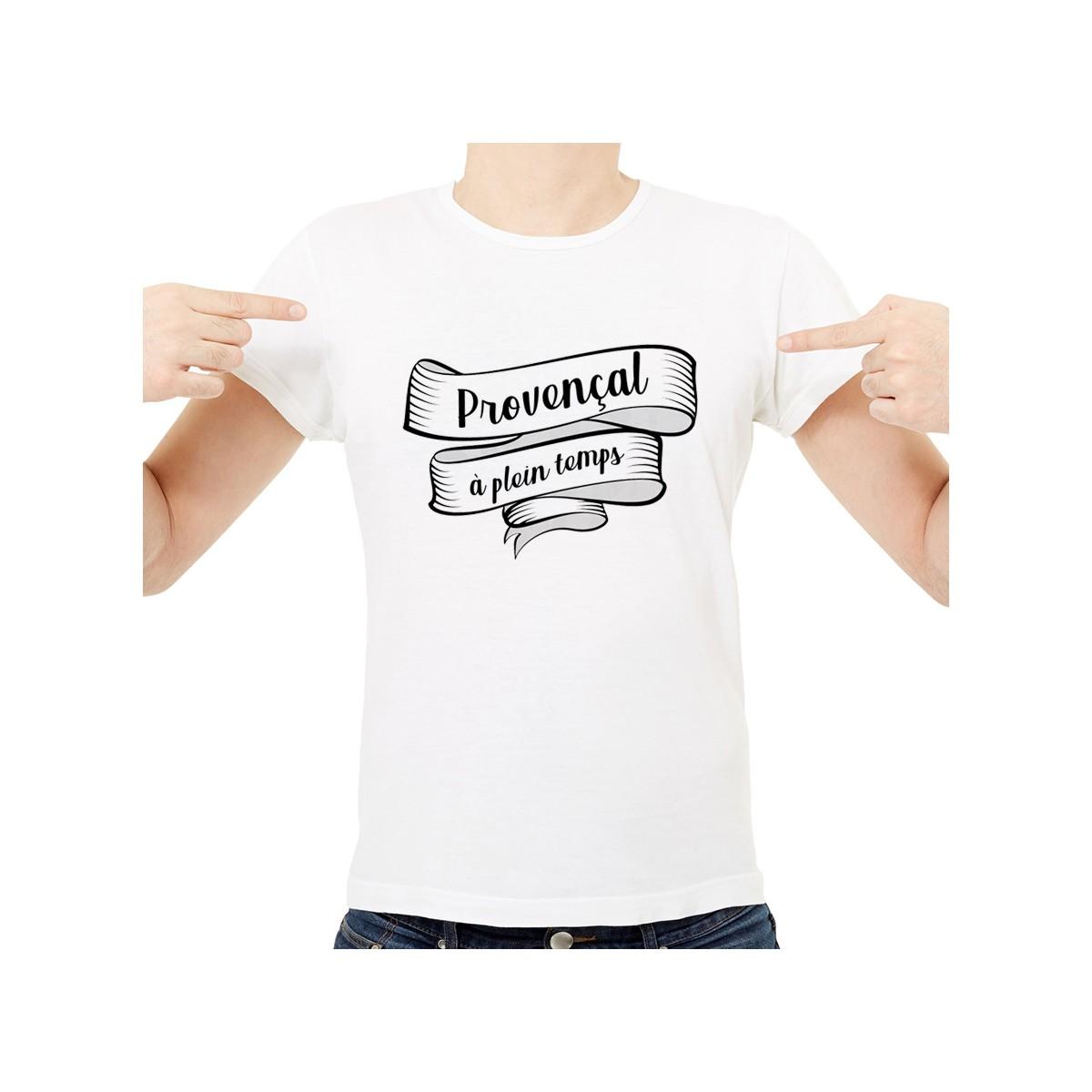 T-shirt Provençal à plein temps