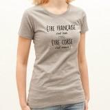 T-shirt Être Corse c'est mieux