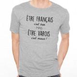 T-shirt Être Varois c'est mieux