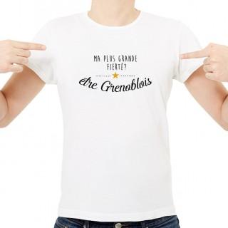 T-shirt Ma plus grande fierté... être Grenoblois