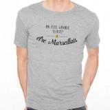 T-shirt Ma plus grande fierté... être Marsaillais
