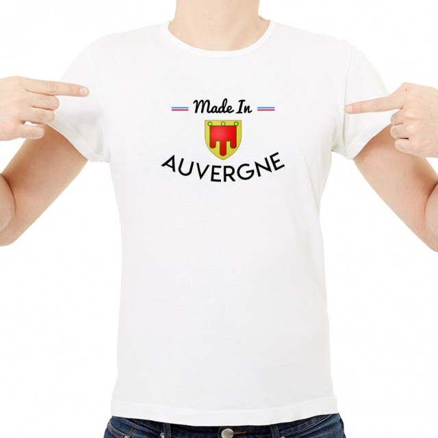 T-shirt Made In Auvergne