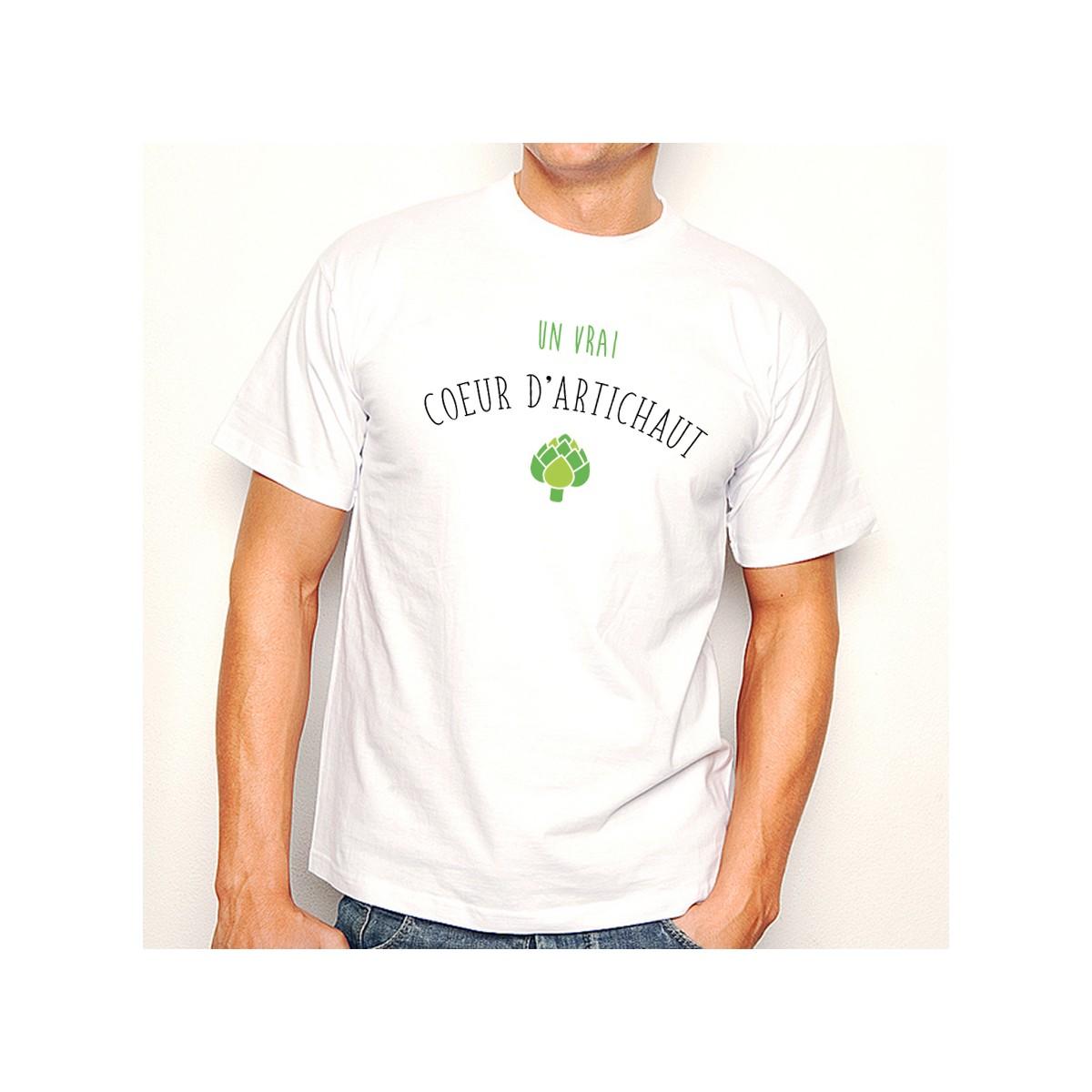 T-shirt Un vrai coeur d'Artichaut